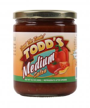 Todd's Medium Original Homemade Salsa