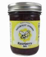 Naturally Jammin Raspberry Jam