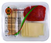 Daniele Inc. Hard Salami, Provolone, Dark Chocolate & Almond