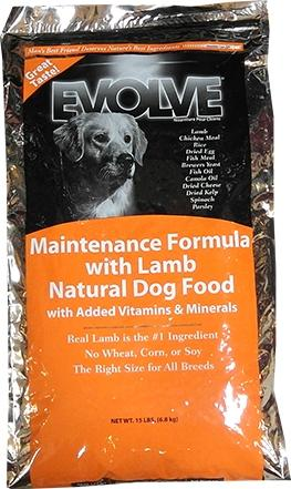 Evolve Adult Maintenance Dog Lamb Lamb Meal