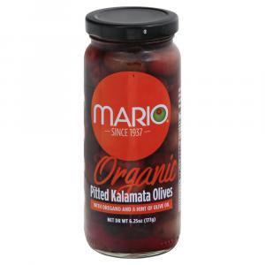 Mario Organic Pitted Kalamata Olives