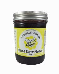 Naturally Jammin Mixed Berry Medley Jam