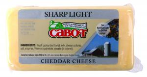 Cabot 50% Reduced Fat Light Cheddar Cheese