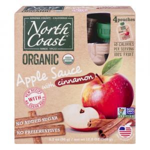 North Coast Organic Apple Sauce With Cinnamon