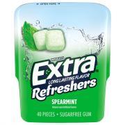 Extra Refreshers Spearmint Sugar Free Gum