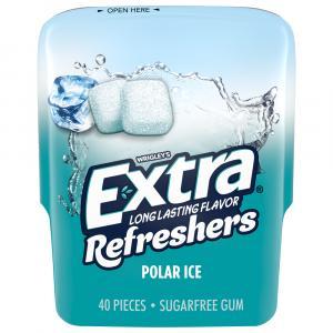 Extra Refreshers Polar Ice Sugar Free Gum