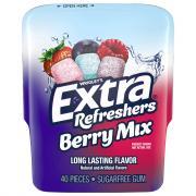 Extra Refreshers Berry Mix Sugar Free Gum