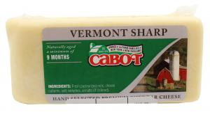 Cabot Vermont Sharp White Cheddar Cheese