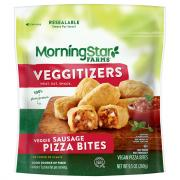 Morning Star Farms Veggitizers Veggie Sausage Pizza Bites
