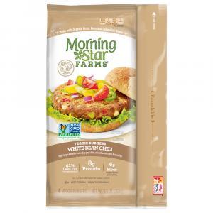Morning Star Farms Burgers White Bean Chili