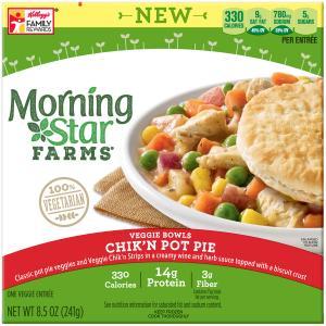 Morning Star Farms Chik'n Pot Pie Veggie Bowls