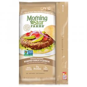 Morning Star Farms Roasted Garlic & Quinoa Burger