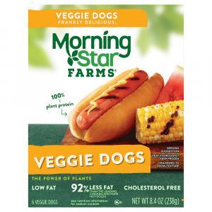 Morningstar Farms Veggie Hot Dogs