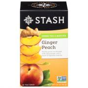 Stash Ginger Peach Green Tea Bags