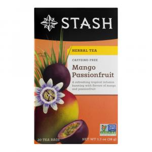 Stash Mango Passionfruit Caffeine Free Tea Bags