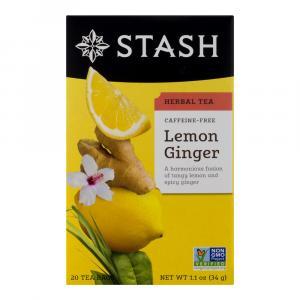 Stash Lemon Ginger Sharp Tea Bags