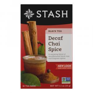 Stash Decaf Chai Tea Bags