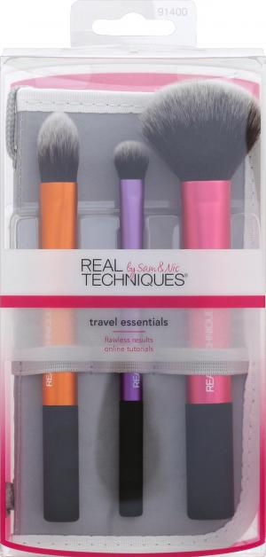 Real Techniques On Location Travel Essentials Brush Kit