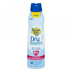 Banana Boat Dry Balance Continuous Spray SPF 50+