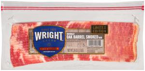 Wright's Oak Barrel Smoked Bacon
