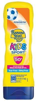 Banana Boat Kids Spf50 Broad Spectrum Sunscreen Lotion