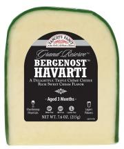 Yancey's Fancy Bergenost Cheese Wedge