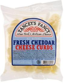 Yancey's Fancy Fresh Cheddar Cheese Curds