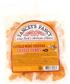 Yancey's Fancy Buffalo Wing Cheddar Cheese Curds