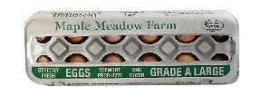 Maple Meadow Farm Large Brown Eggs
