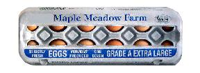 Maple Meadow Farm Extra Large Brown Eggs