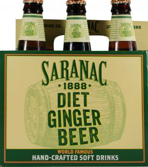 Saranac Diet Ginger Beer