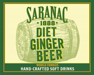 Saranac Diet Ginger Beer