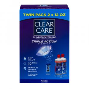 CIBA Vision Clear Care Cleaning Solution