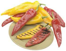 Ramiro Grilling Peppers