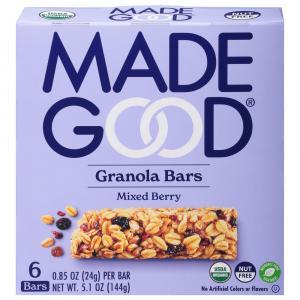 Made Good Organic Mixed Berry Granola Bars