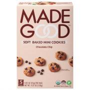 Made Good Organic Soft Baked Mini Cookies Chocolate Chip
