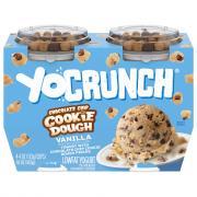 YoCrunch Chocolate Chip Cookie Dough Yogurt