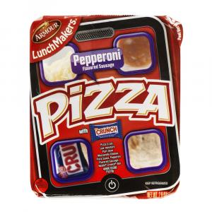 Eckrich Lunchmakers Pepperoni Pizza Kit
