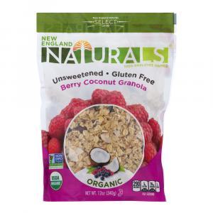 New England Naturals Organic Gluten Free Berry Coconut