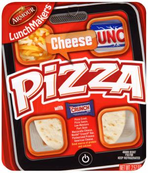 Armour LunchMakers Cheese Pizza
