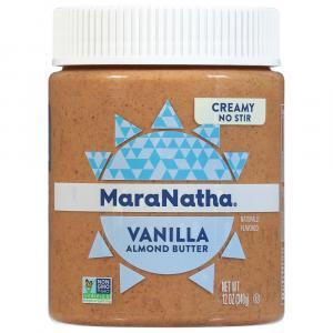 MaraNatha Creamy Vanilla Raw Almond Butter