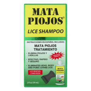 Mata Piojos Lice Shampoo