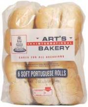 Art's Portuguese Rolls