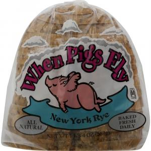 When Pigs Fly New York Rye Bread