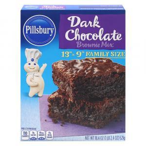 Pillsbury Dark Chocolate Brownie Mix