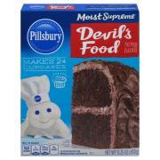Pillsbury Moist Supreme Devils Food Cake Mix
