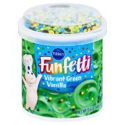 Pillsbury Vibrant Green Vanilla Funfetti Frosting