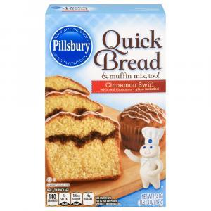 Pillsbury Cinnamon Swirl Quick Bread