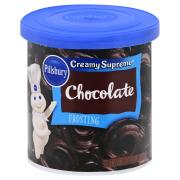 Pillsbury Creamy Supreme Chocolate Frosting