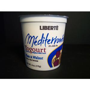 Liberte Plum & Walnut Fruit Yogurt
